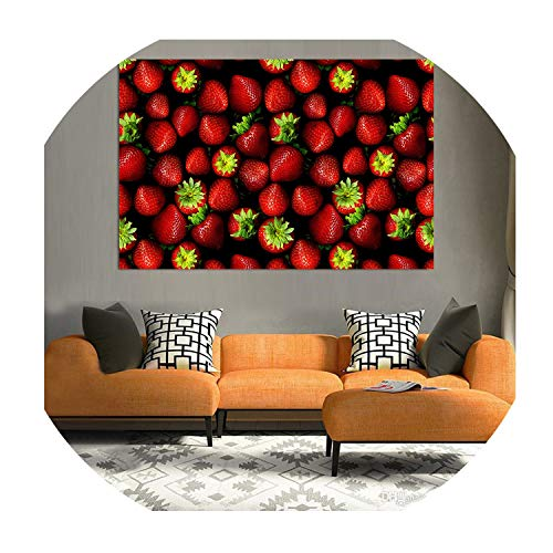 Surprise moment-Home Decor Wall Paintings Beautiful Kitchen Fruit Poster Prints Modern Oil Painting On Canvas Pictures for Living Room Hanging Wall Art,20X30 cm No Frame,A