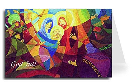 Merry Christmas Greeting Card - Nativity 4 (20 Cards) ()
