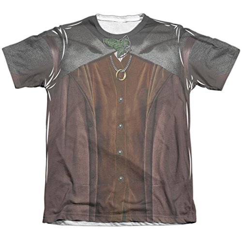 [Lord Of The Rings- Frodo Costume Tee T-Shirt Size XXXL] (Frodo Costume Mens)