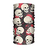 RUITO Skeleton Magic Headwear Snake Outdoor Scarf Headbands Bandana Mask Neck Gaiter Head Wrap Mask Sweatband