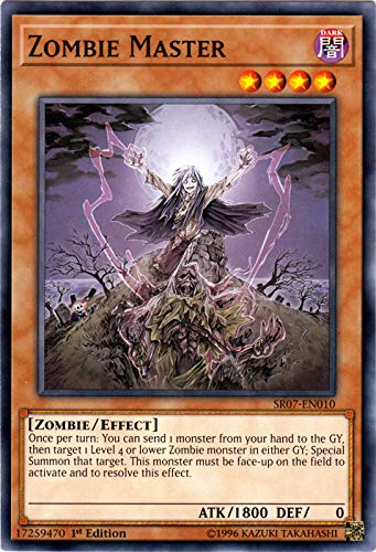 Yu-Gi-Oh! - Zombie Master - SR07-EN010 - Common - 1st Edition - Structure Deck: Zombie Horde