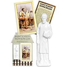 Gifts of Faith Religious St. Joseph Home Seller Kit (White)