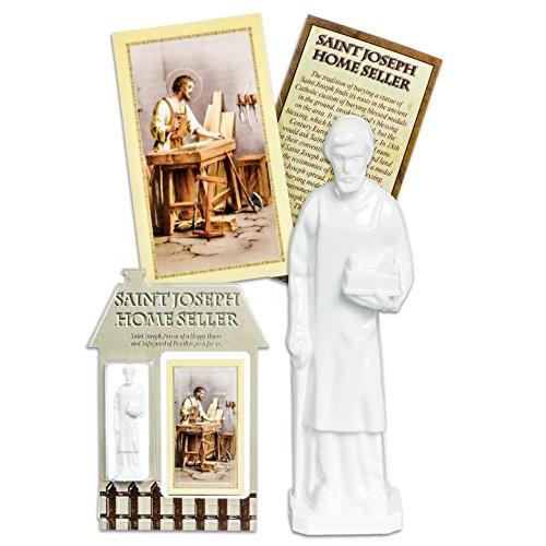 Joseph Home Seller Kit (Gifts of Faith Religious St. Joseph Home Seller Kit (White))