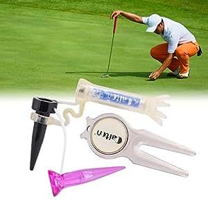 Amazon.com: Juego de herramientas de golf multifunción todo ...