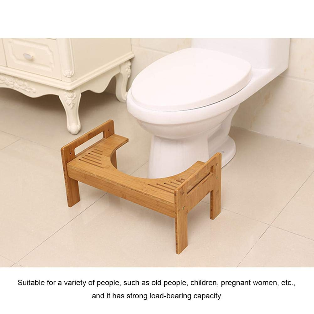 likeitwell Taburete Fisiologico para Inodoro Recomendado por Los Medicos para Una Mejor Y Completa Evacuacion -Ergonomico Hemorroides Home Retrete WC