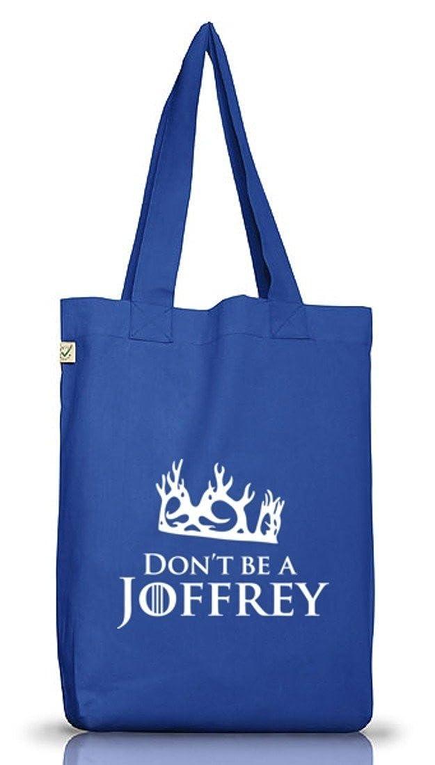 Shirtstreet24, Don't Be A Joffrey, Jutebeutel Stoff Tasche Earth Positive (ONE SIZE) Don' t Be A Joffrey