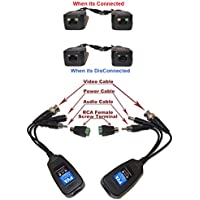 Evertech 16 Pairs PV/PVD/PVA Passive Power Video & Data (audio) via UTP & RJ45 Twisted Pairs CCTV Camera Video Balun