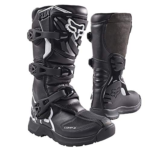 Fox Racing 2018 Youth Comp 3 Boots (2) (BLACK)