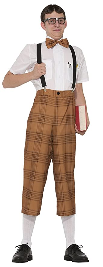 50s Costumes | 50s Halloween Costumes Forum Novelties Mr Nerd Adult Costume- $22.53 AT vintagedancer.com