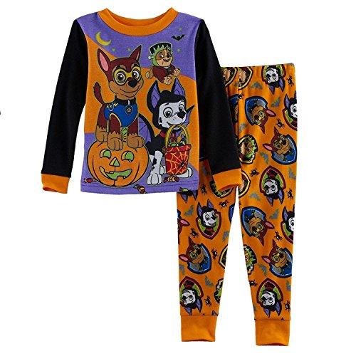Toddler Boy Paw Patrol Halloween Glow in The Dark Pajama Set (3T)]()