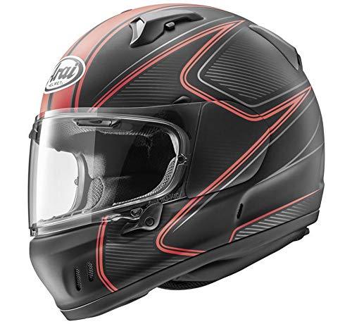 - Arai Defiant X Helmet - Diablo (SMALL) (FROST RED)