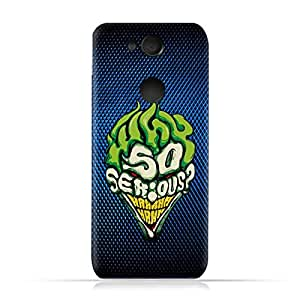 Sony Xperia XA2 TPU Protective Silicone Case with Joker Why so Serious Design