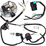 50 cc motor kit - Annpee Wire Harness Wiring Loom CDI Coil Magneto Ignition Rebuild Kit for Kick Start Dirt Pit Bike 50-125cc