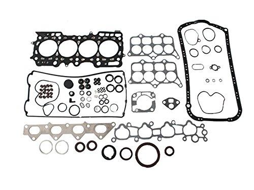 Head Gasket Kit Set For 1992-1996 Honda Prelude SE Si 2.3L I4 Engine Code H23A1 Multi Layered Steel MLS - Honda Prelude Head Gasket