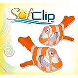 Beach towel clips Tropical Fish - SolClip / Canada.