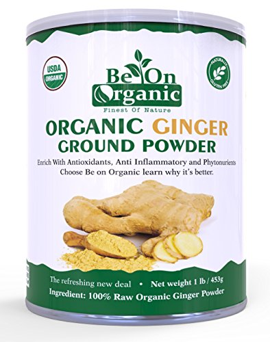 Price comparison product image Be On Organic Ginger Powder (16 OZ)