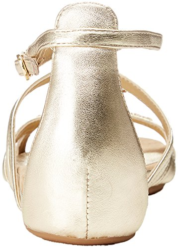 Albillo lmt Gold Sandals White Toe Women''s platino Open Unisa 74xTwT
