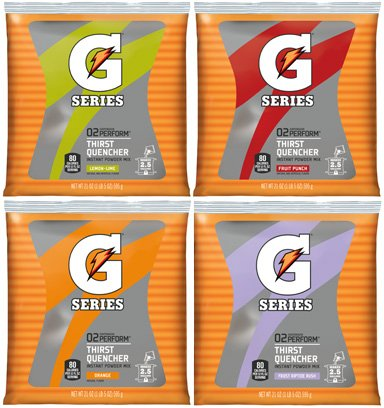 Gatorade 03944 Original Powdered Drink Mix, Variety Pack, 21oz Packets, 32/Carton (Gatorade Mix Packets compare prices)
