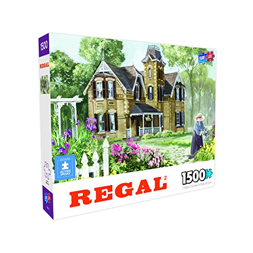 Surelox 70650-5 Regal Collection - Summer Garden (1500Piece) Jigsaw Puzzle