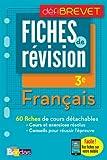 Français 3e : Fiches de révision