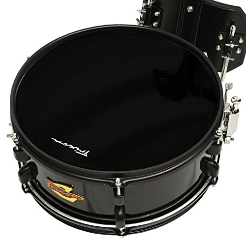 Trixon Field Series Scholastic Marching Snare Drum - 14'' x 5.5'' - Black