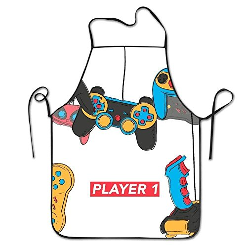 Game Video Matching Family Pinafore Vintage Cooking Apron Women For Kitchen Men wvxFvg