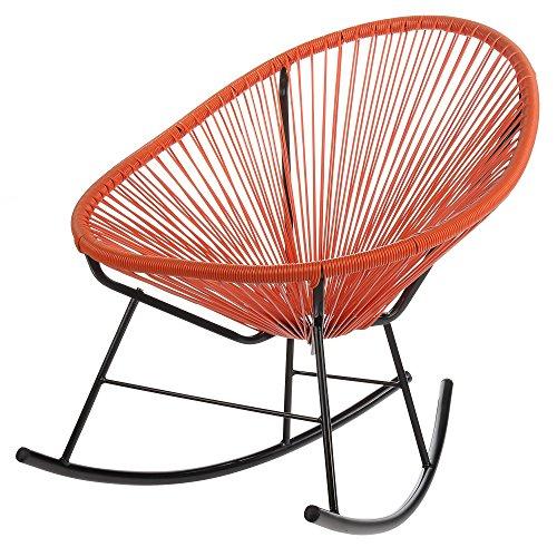 Polyvaz PV-MR-OR Mayan Hammock Acapulco Rocking Chair, Or...