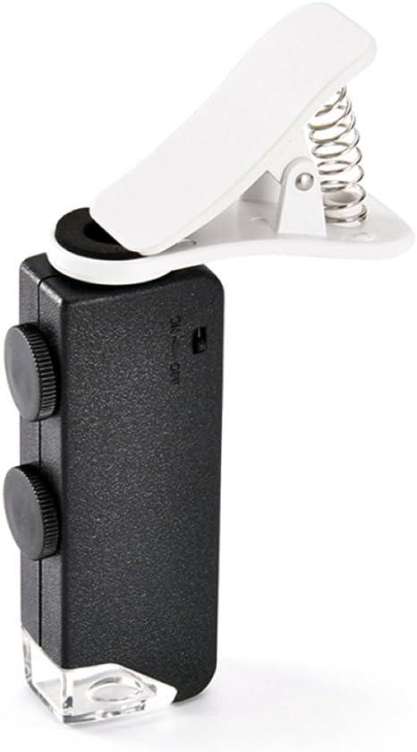 60X / 100X) Lupa Ajustable con luz LED para Profesionales ...