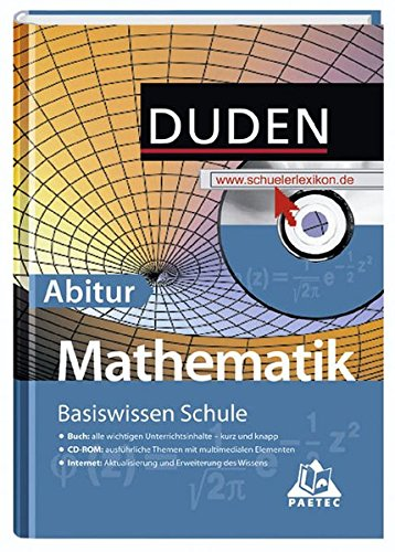 Basiswissen Schule - Mathematik Abitur: 11. Klasse bis Abitur
