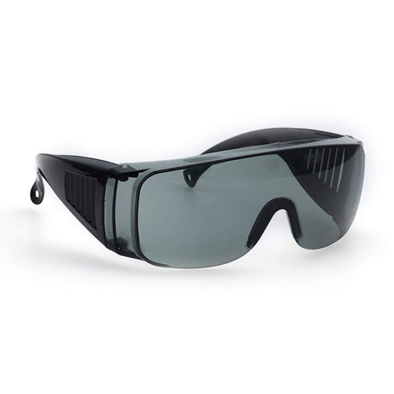 JohnJohnsen Gafas de protecci/ón Laboral Industrial Gafas de protecci/ón Anti l/áser infrarrojo Lentes de PC Anti-vaho Anti-UV Anti-Impacto Gafas Amarillo Transparente