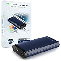 20800mAh ActivePower PowerBank by Tech Armor External Battery Portable Dual USB Charger Power Bank - Fast Charging, High Capacity, Ultra Compact