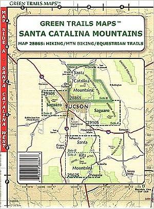 Santa Catalina Mountains (Hiking / Mountain Biking / Equestrian ...