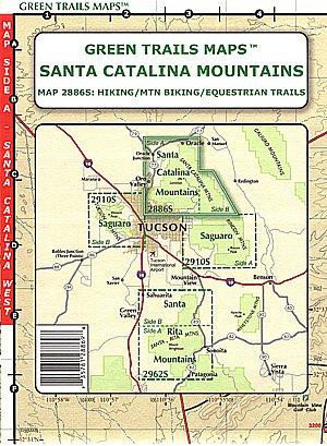 Santa Catalina Mountains (Hiking / Mountain Biking / Equestrian Trails, Map ()