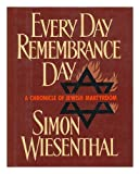 Every Day Remembrance Day, Simon Wiesenthal, 0805000984