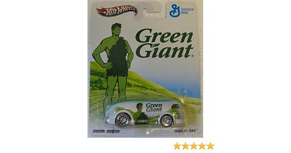 Haulin/' Gas Green Giant General Mills in 1:64 Hot Wheels X8329