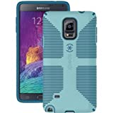 Speck Products CandyShell Grip Case for Samsung Galaxy Note 4 - Retail Packaging - River Blue/Tahoe Blue