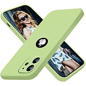 Vonzee® Compatible with iPhone 12 Mini Case, Full Covered Silicone Cover with Upgraded Camera Protection for iPhone 12… 9 51c1LdiaPzL. SS300