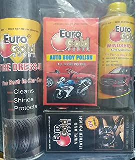 Euro Gold Super Waterless Drywash Car Cleaner And Polish Amazon In