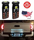 92 mustang door panel - LED Monster 2-Pack White 3-SMD LED Bulbs (3030 Chipset) for Car Interior Dome Map Door Courtesy License Plate Lights Extremely Bright Compact Wedge T10 168 194 2826