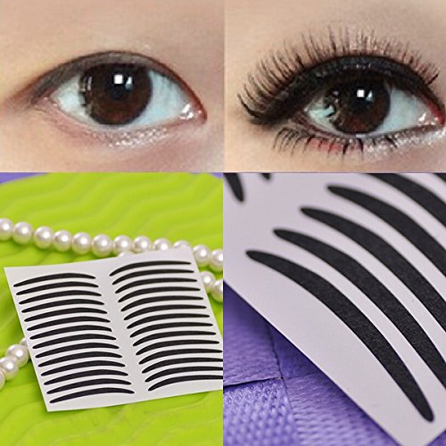 Temporary Tattoos - Temporary Black Stripe Makeup Eyeliner Tattoo Sticker - Eyeliner Tattoo Stickers Sticker Eyeshadow Temporary Tattoos Liner Gems Face Makeup - 1PCs
