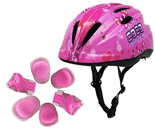 toddler bike helmet and pads - 1