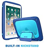 New iPad 9.7 2018/2017 Case for kids, Mumba iPad 9.7 Inch Protective Case for Apple iPad 5th/6th Generation [Kido Series] [Kickstand] [Shoulder Strap]
