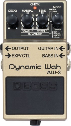 BOSS Dynamic Wah Guitar Pedal (AW-3)