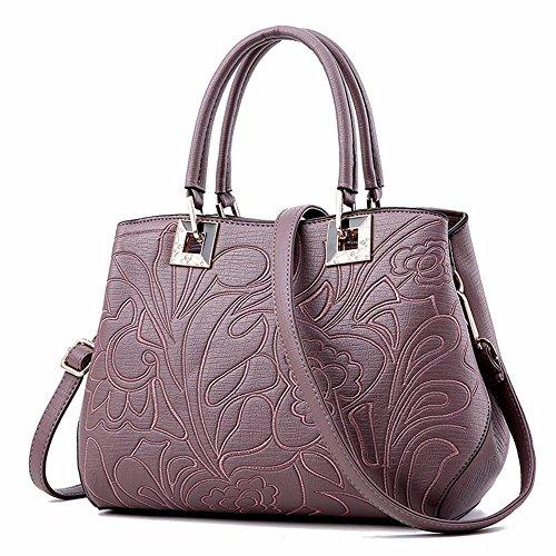 Bolso para Hombro Mujer Gules BMKWSG al violeta TwzdPT