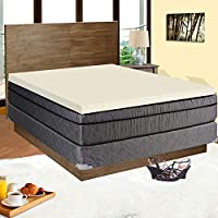 Spinal Solution High Density 2-inch Foam Mattress Topper, Adds Comfort to Mattress, Full Size