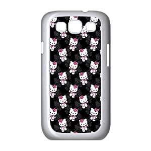 Hello-Kitty Samsung Galaxy S3 9300 Cell Phone Case White MS4632875