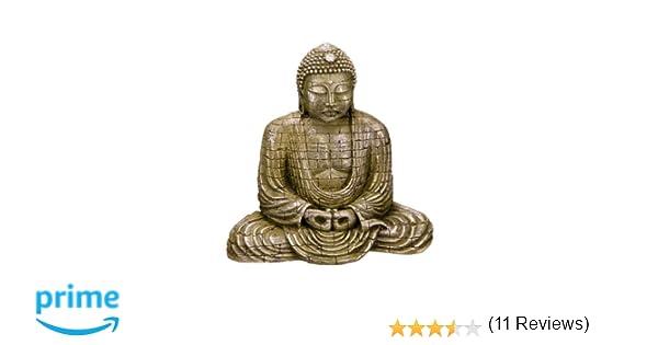 Nobby Buda Decorativo para Acuario, 15,5 x 9,6 x 15,4 cm