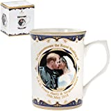 Royal Wedding of Prince Harry and Meghan Markle (The Duke and Duchess of Sussex) Commemorative Kiss Gift Mug