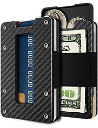 Minimalist Carbon Wallet Pocket Blocking Features