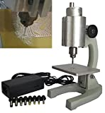 AMPSEVEN Micro Electric Drill Bench Drill for PCB Circuit Board Jade Sculpture